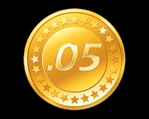 .05 bitcoin cashout