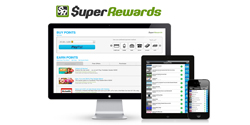Earn bitcoin with Super Rewards