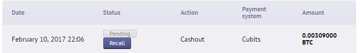 Betchain Free Spins Cashout